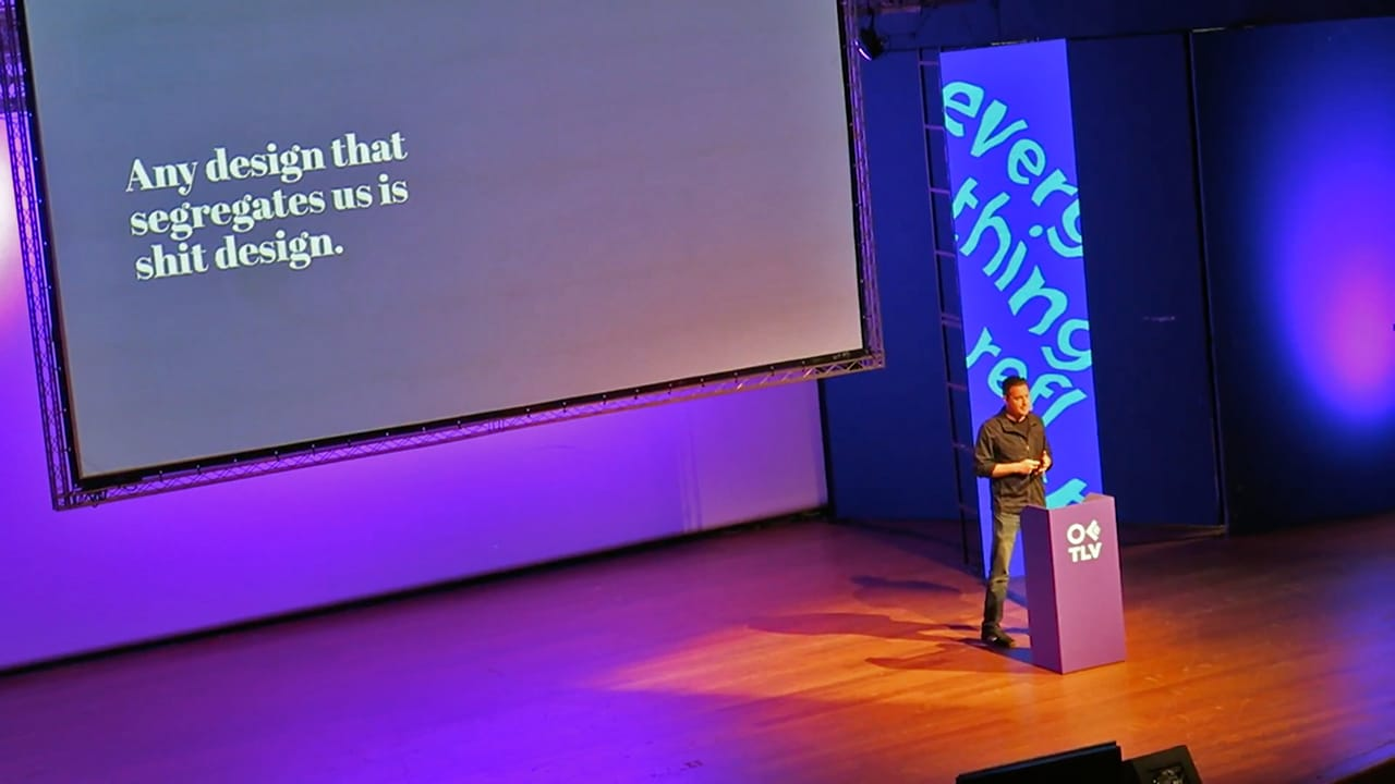 Speaking at the OFFF Tel Aviv conference, 2017
