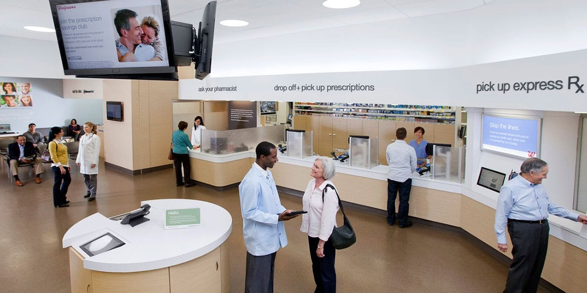 Walgreens Pharmacy Redesign